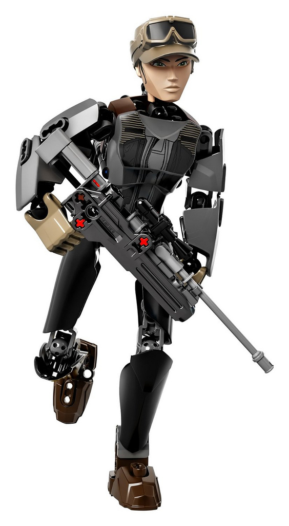 LEGO Star Wars Rogue One 75119 Sergeant Jyn Erso Buildable Figure