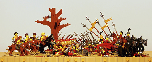 the Battle of Issus - 333 B.C.
