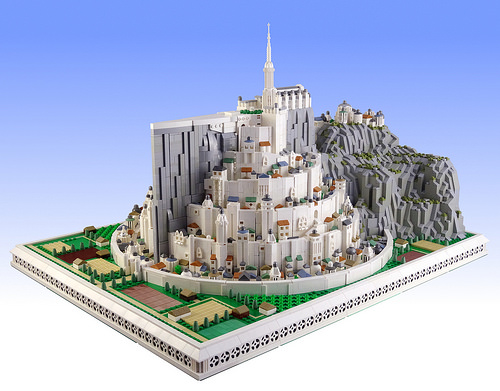 LEGO Minas Tirith Gondor Pelannor Fields