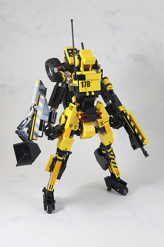 Backhoes mecha-3