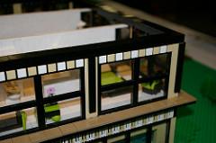 LEGO house detail