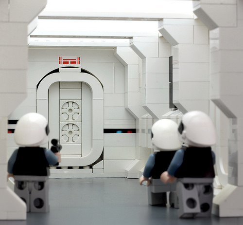 Tantive IV Lego - Expecting Visitors