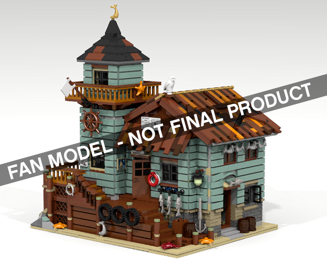 LEGO IDEAS: Old Fishing Store