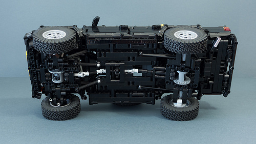 LEGO Technic TOYOTA HILUX N40 by RM8 MOD Back To The Future