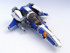 LEGO starfighter by Peter Morris