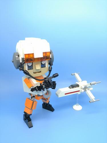 Star wars Rebel Pilot #rebel #starwars #pilot #lego #moc