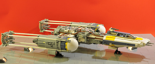 Y-wing - Just parking
