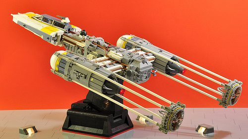 Y-wing - Flying