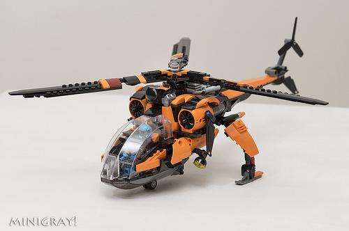 装载多用途直升机