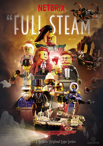 """Full Steam"" Netbrix Poster"