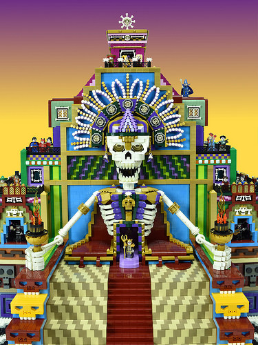 LEGO Day of the Dead