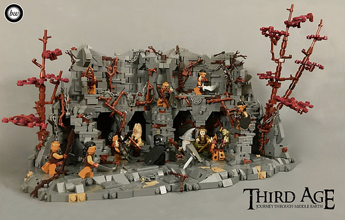 A fellowship of LEGO builders takes us on an epic journey