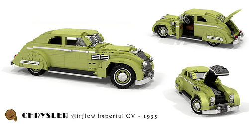 Chrysler Airflow Imperial Eight CV Coupe - 1935