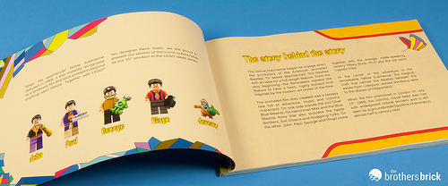 21306 The Beatles Yellow Submarine