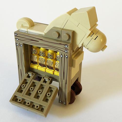 LEGO Dala Horse - Trojan 2