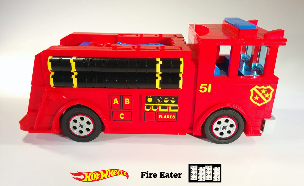 Fire Eater Lego MOC 9 of 11