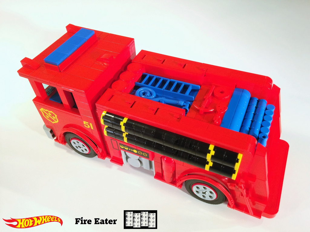 Fire Eater Lego MOC 10 of 11