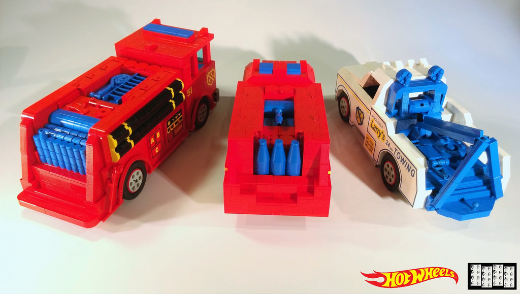 Hot Wheels Lego MOCs 2 of 11
