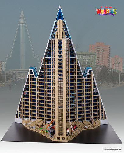 Ryugyong Hotel north side