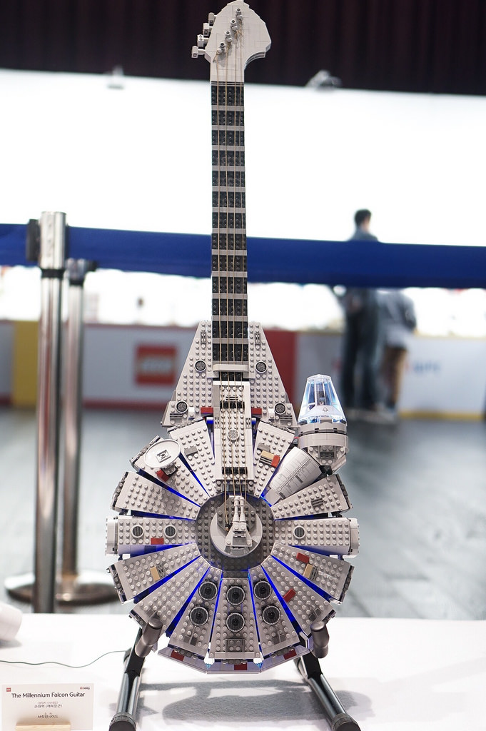 The Millennium Falcon Guitar