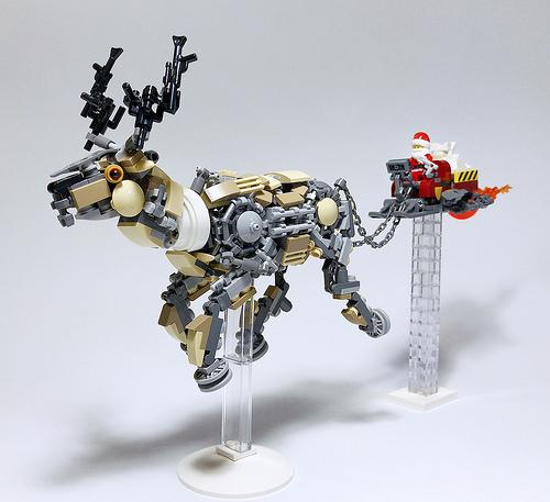 LEGO Mech Reindeer-01