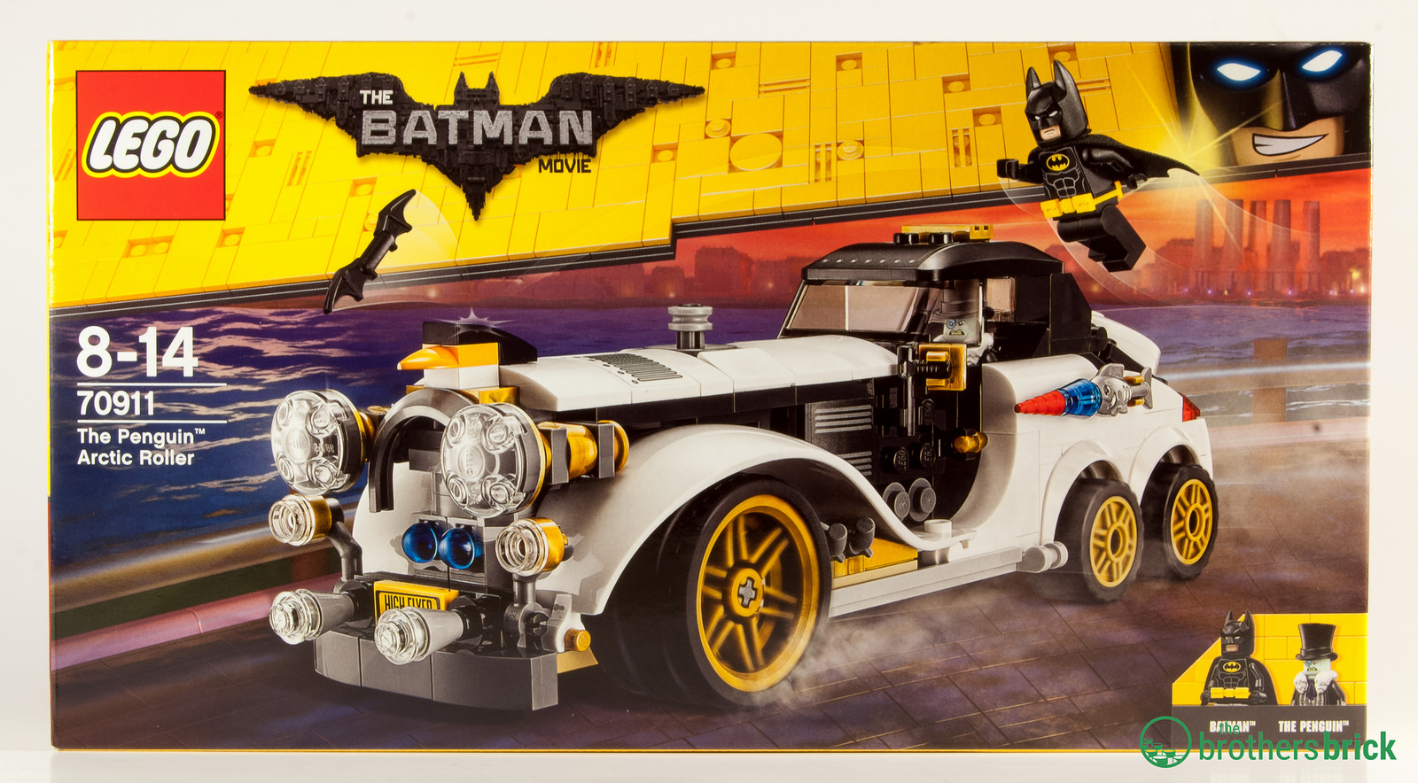 Lego Batman Movie 70911 The Penguin Arctic Roller Review The Brothers Brick The Brothers Brick
