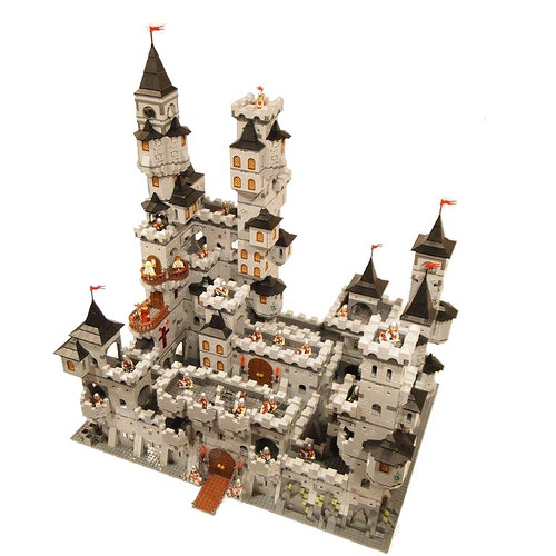 Worlds Largest Modular Castle