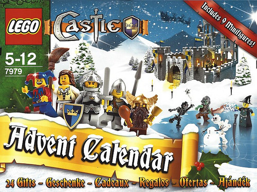 LEGO 7979 Castle Advent Calendar