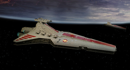 Venator class star destroyer by Philipp Neumann