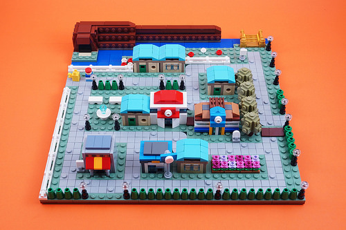 Cerulean City: Microscale Build