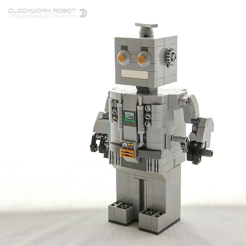 Immortal Clockwork Robot