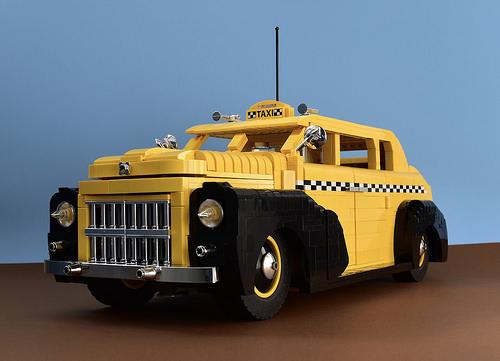 1950s LEGO Taxi Cab