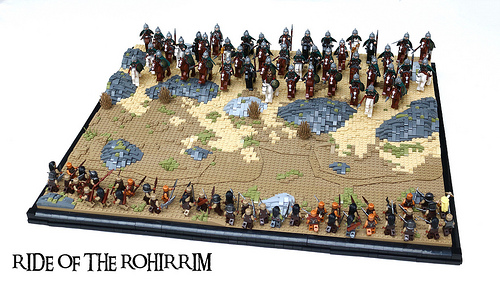 Ride of the Rohirrim MOC