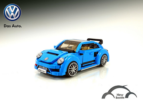 LEGO 2017 VolksWagen Beetle With GRC Body Kit MOC