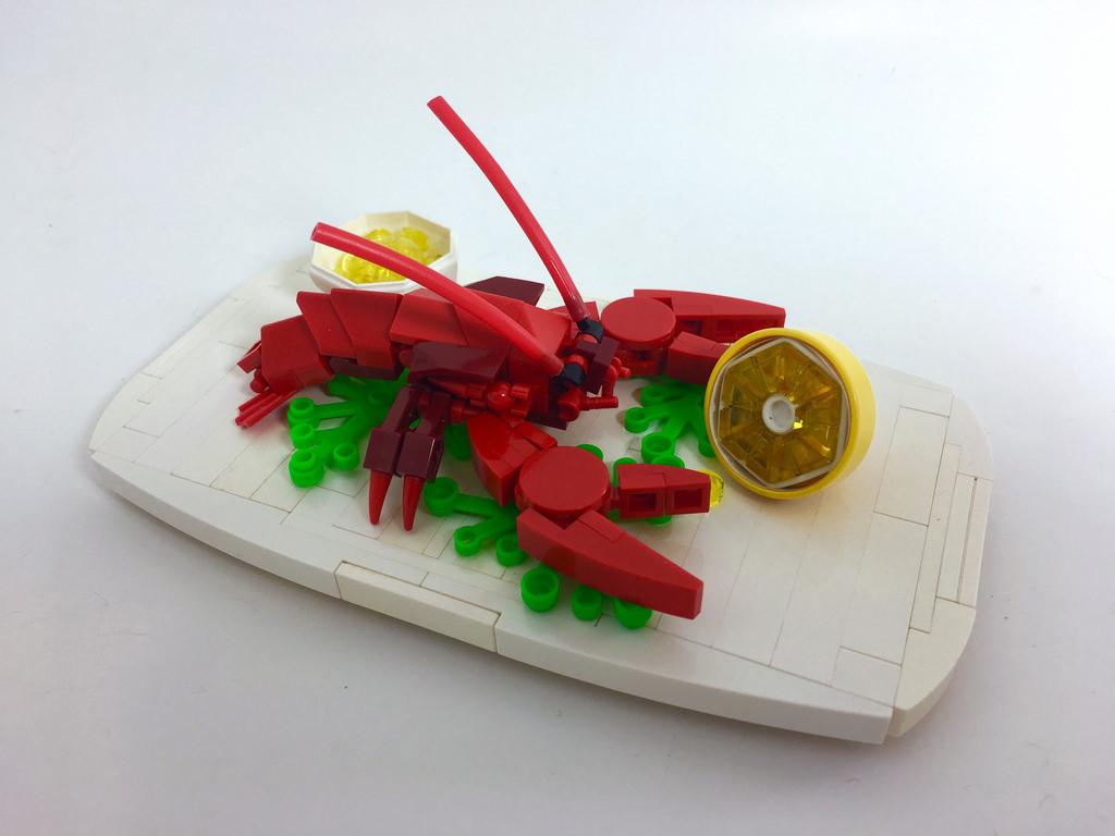 Lobster a la Lego