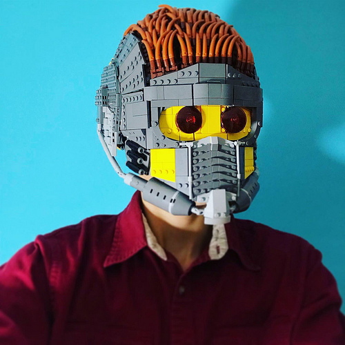 Lego Wearable Star Lord Helmet