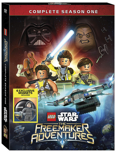 LEGO Star Wars Freemaker Adventures DVD cover