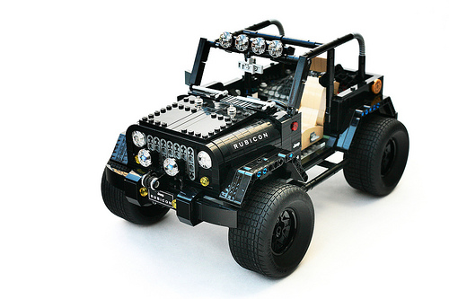 Winch, light bar, larger tires! Go & support - https://ideas.lego.com/projects/159512