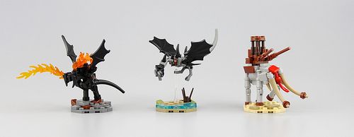 LEGO Balrog Nazgul Mumakil