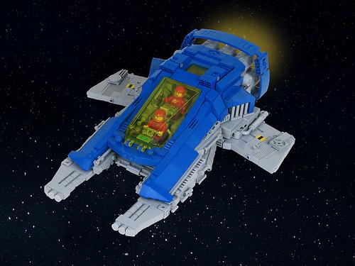 LL-527 Rapier class fighter