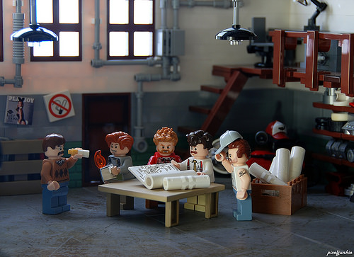 Yet Another Auto Shop Diorama
