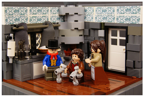 Lego Christmas Carol 3b - The Cratchits