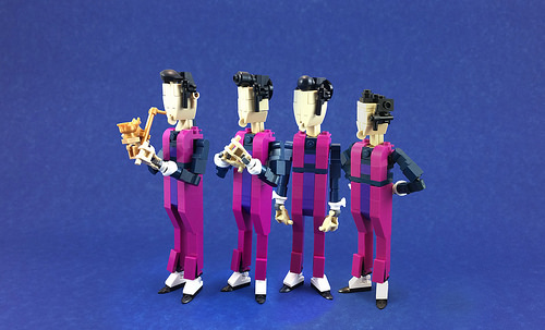 We are Number One but it's a photo and made of Lego