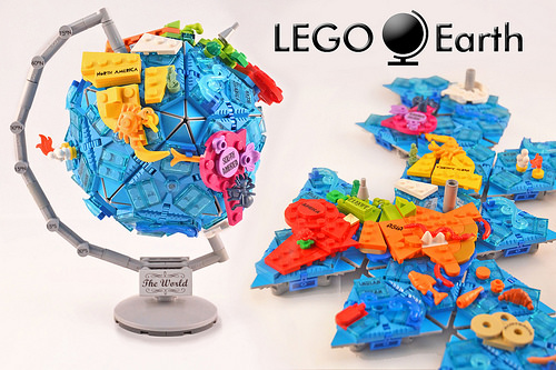 LEGO Earth: Globe & Map 2-in-1