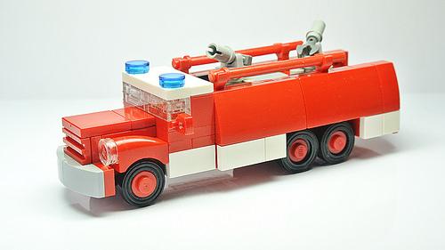 The Fire Truck Tatra 148 (MOC)