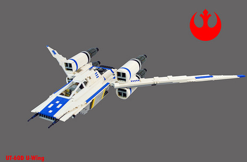 UT-60D U-Wing S-foils open