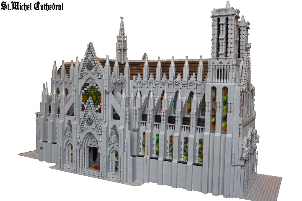 lego st.michel cathedral