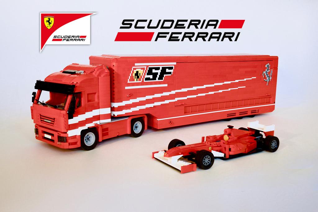 Scuderia Ferrari Transporter
