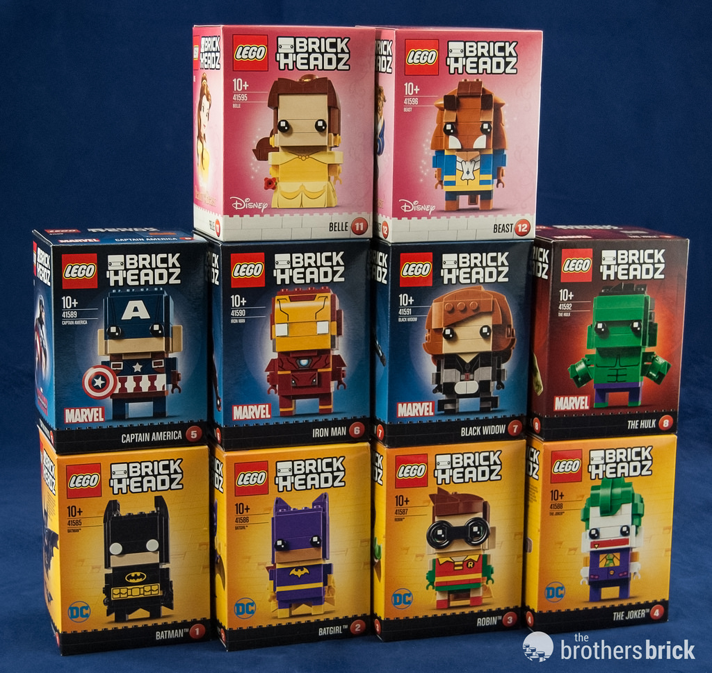Lego Brickheadz Dc Characters From The Lego Batman Movie Review