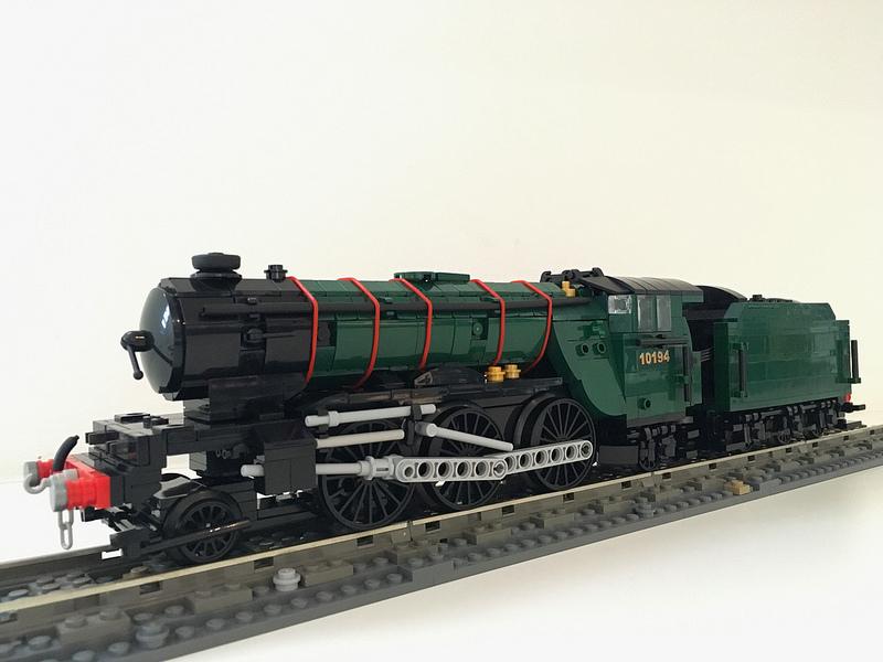 WIP LNER/BR V2 Gresley